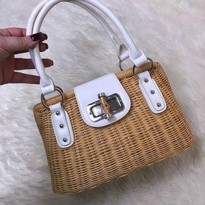 Kelly & Katie wicker basket purse handbag